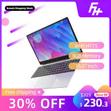 Funhouse <b>Laptop Ultra Thin Business</b> Office New Portable 16:9 15.6 ...