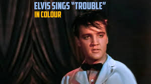 <b>ELVIS PRESLEY</b> performing 'TROUBLE' (KING CREOLE in <b>COLOUR</b>!)