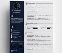 top  best free resume templates psd  amp  ai   colorlibfree creative resumé template by daniel hollander