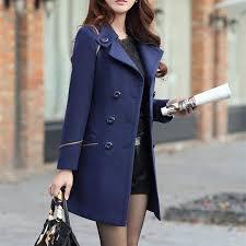 <b>ZOGAA</b> Women's Wool Coat Winter Spring Fashion Long Trench ...