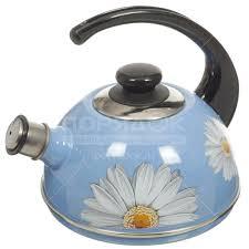 <b>Чайник эмалированный</b> Рубин Ростов С2531 со свистком ...