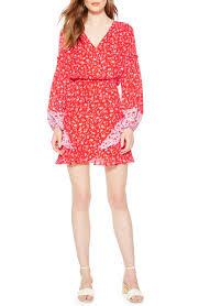 Parker Shona <b>Floral Print Silk Dress</b> | Nordstrom
