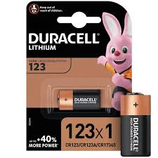 <b>Батарейки DURACELL</b> ULTRA <b>CR123</b> литий для фотоапп. бл/1шт