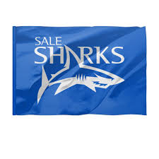 "Флаг 150x100 см ""Сейл Шаркс <b>регби</b>"" #2710143 от rugby - <b>Printio</b>"
