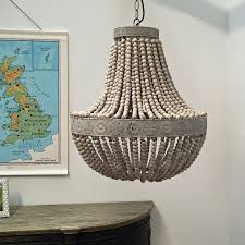 flower pattern wooden accesories color beaded pendant light ancient old rustic hanging lamp fixtures beaded lighting
