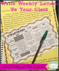 corkboard connections using weekly letter writing in the classroom using weekly letter writing in the classroom