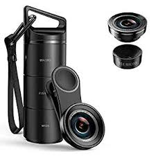 (Upgraded Version) Criacr Phone Camera Lens, <b>3 in 1</b> Cell Phone ...