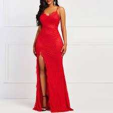 Red <b>Women</b> Dress <b>2019 Summer</b> Asymmetric Bodycon Long Dress ...