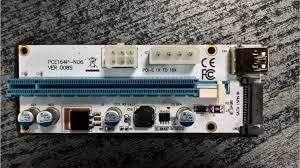 Внешний PCI-E USB <b>адаптер</b> 3.0 Extender <b>Riser Card</b> купить в ...