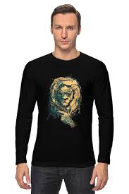 <b>Лонгслив</b> Лев с пистолетом #669768 от ФУТБОЛКИ ВИНЛИ по ...