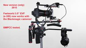 """<b>Feelworld 3.5</b>"""" EVF working with BMPCC - YouTube"""