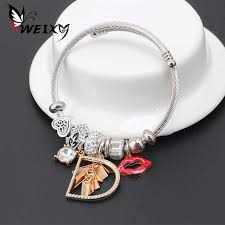 Student <b>Fashion Concise</b> Personality Bracelet <b>Women's</b> Multivariate ...
