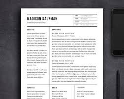 Best images about Resume Design on Pinterest   Creative resume     Resume Template   CV Template   Cover Letter for MS Word   Professional and Creative  Resume Design   Modern Resume   Instant Download