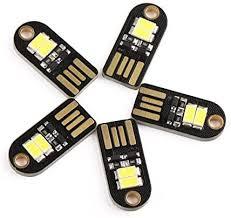 <b>Mini USB</b> LED Light, DROK <b>5PCS</b> Portable Energy Efficient Kids ...