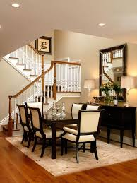dining room designer furniture exclussive high: transitional dining room decorating ideas cream dining room with high ceilings and modern style