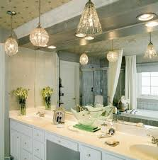 pendant modern bathroom lighting with large mirror and small glass flower vase on double sink bathroom vanity bathroom vanity mirror pendant lights glass