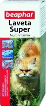 <b>Beaphar</b> `<b>Laveta</b> super` <b>витамины</b> для кошек с таурином для ...