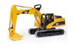 ≡ <b>Экскаватор</b> гусеничный <b>BRUDER</b> 1:16 <b>CAT</b> (2438) – купить в ...