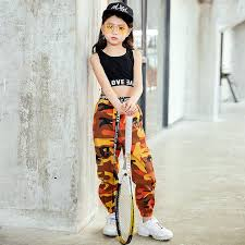 Fashion Children Jazz <b>Dance</b> Costume For Girls <b>Hip Hop Street</b> ...
