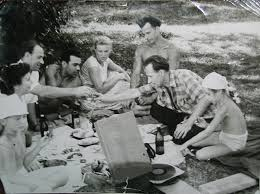 Image result for picnic food 1950s