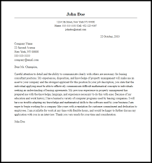 Professional Leasing Consultant Cover Letter Sample & Writing ...