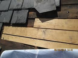 roof repair place:   slate roof new decking installation portfolio images