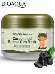 Очищающая кислородная пузырьковая <b>маска для лица</b> на основе ...
