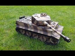 RC Tank 1:16 Taigen Tiger 1 (PROFI) - unboxing and first run ...