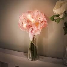 Pink <b>cherry blossom</b> bouquet <b>LED</b> - via K studio