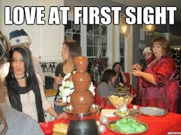 Love At First Sight Meme – Smart Talk About Love via Relatably.com