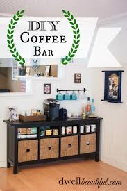 coffee bar and teas on pinterest attractive coffee bar home 4