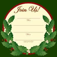 printable christmas and new year party invitations hubpages