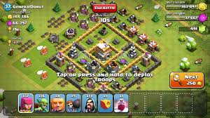 Image result for clashofclans th wall next to it