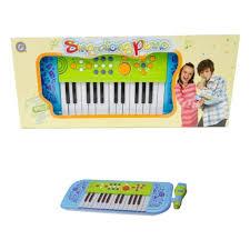 Детский синтезатор <b>POTEX TOYS</b> 539A-blue Sing-Along Piano ...