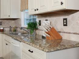 Granite Tile Kitchen How To Install A Granite Kitchen Countertop How Tos Diy