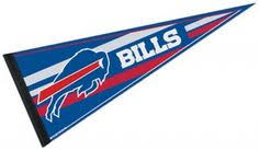 <b>Buffalo Sabres</b> Pennant is our NHL team pennant which measures ...
