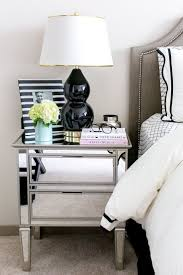 around the bedroom with lulu georgia the life and style of nichole ciotti added drama mirrored bedroom furniture
