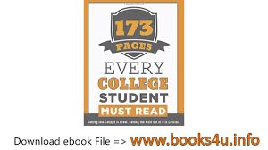 pages every college student must getting into college is 173 pages every college student must getting into college is great getting the most out of it i