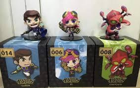 Game 11 styles PVC Action figure <b>Jax Leona Gragas Jinx</b> Khazix ...