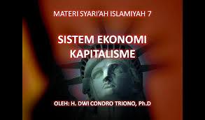 Hasil gambar untuk sistem ekonomi kapitalis