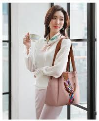 Buy <b>Free Shipping 4pcs</b> Set Women Handbag Color Strip Casual ...