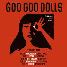 SOLD OUT: Goo <b>Goo Dolls</b> - Albert Hall Manchester