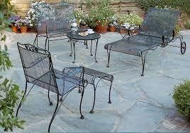 image of alluring wrought iron patio furniture black wrought iron table