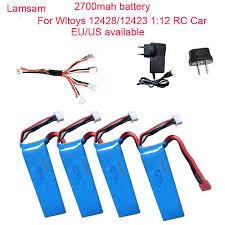 High Capacity <b>7.4V 2500mAh battery for</b> Syma X8W x8c X8G X8HC ...