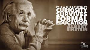 albert einstein on intellectual growth beginning at birth the albert einstein quote