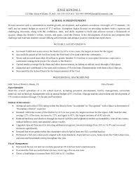 assistant superintendent resume superintendent resume