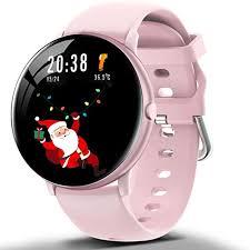 <b>Smart</b> Watch Full Touch Fitness Tracker Body Temperature <b>Monitor</b> ...