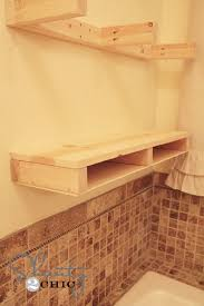easy diy floating shelves shanty 2 chic build floating shelves