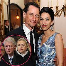 Image result for caricature huma and hillary