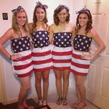 Image result for sorority girl patriotic